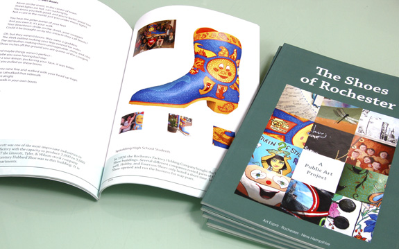 Brochure, booklet, signage for an art project